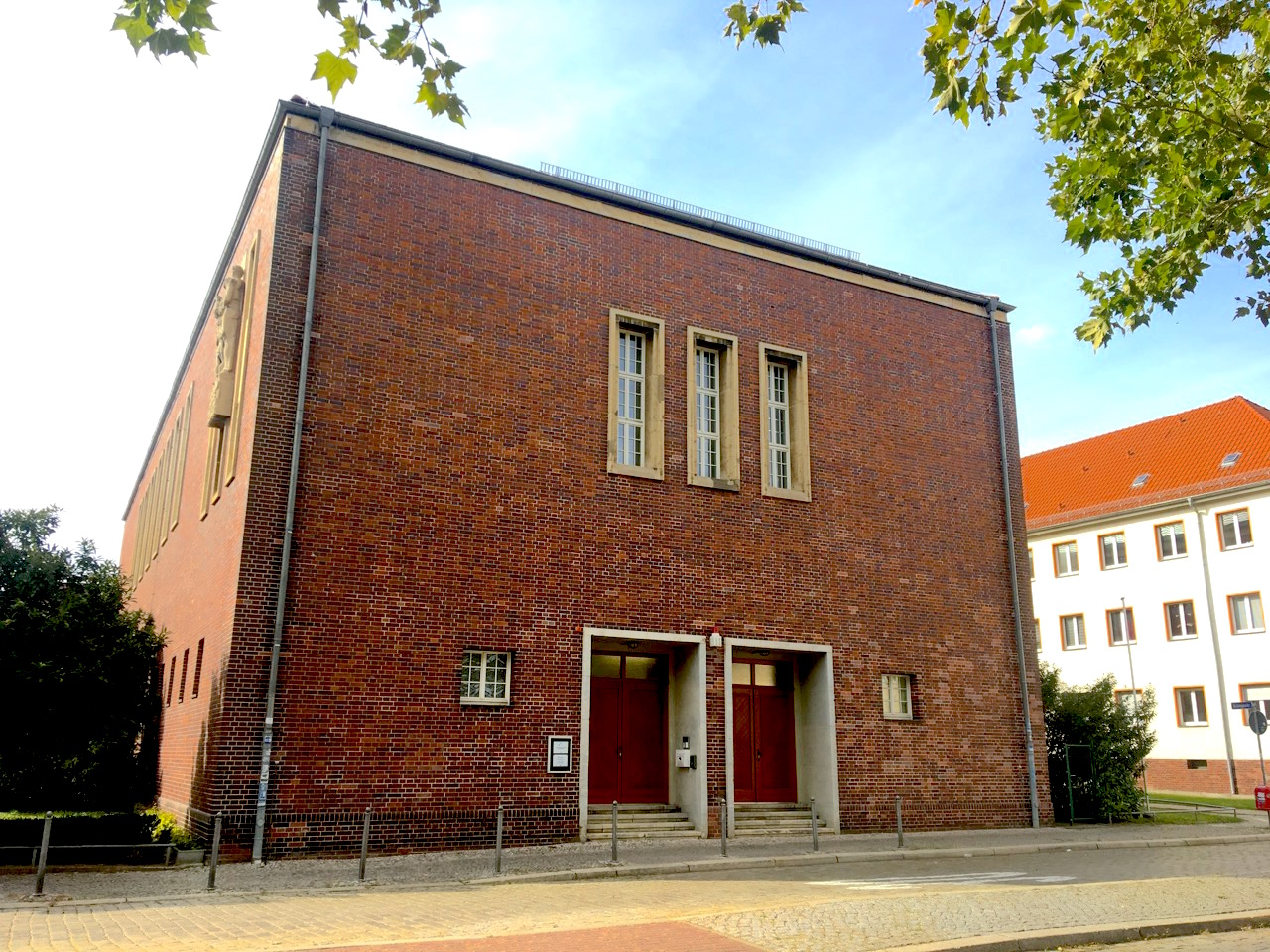 archive of the church in central Germany in Magdeburg
