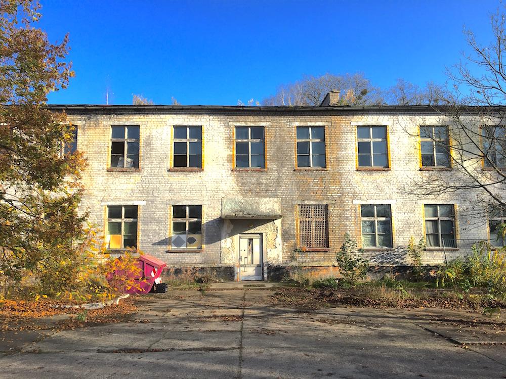 Friedensstadt Glau: ehemalige Kaserne der sowjetischen Garnison