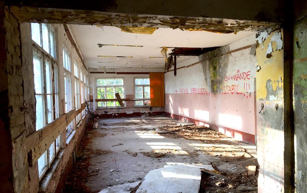 """Friedensstadt Glau: ehemaliges Gasthaus """"Zur Sonne"""""""