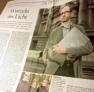 Marc Jarzebowski im Tagesspiegel Heiligabend 2014