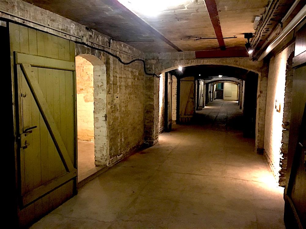 SA-Gefängnis Papestraße: Kellergang
