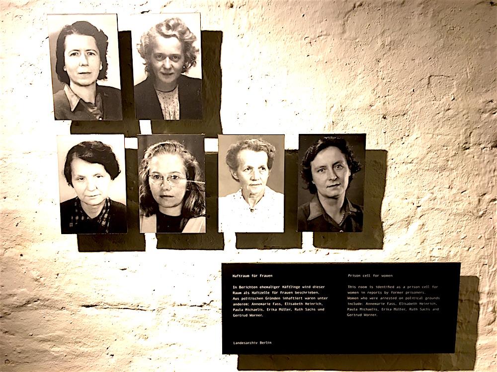 SA-Gefängnis Papestraße: Haftraum für Frauen