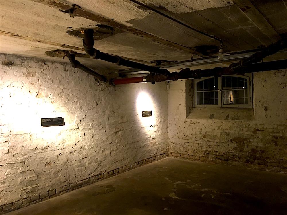 SA-Gefängnis Papestraße: Haftraum