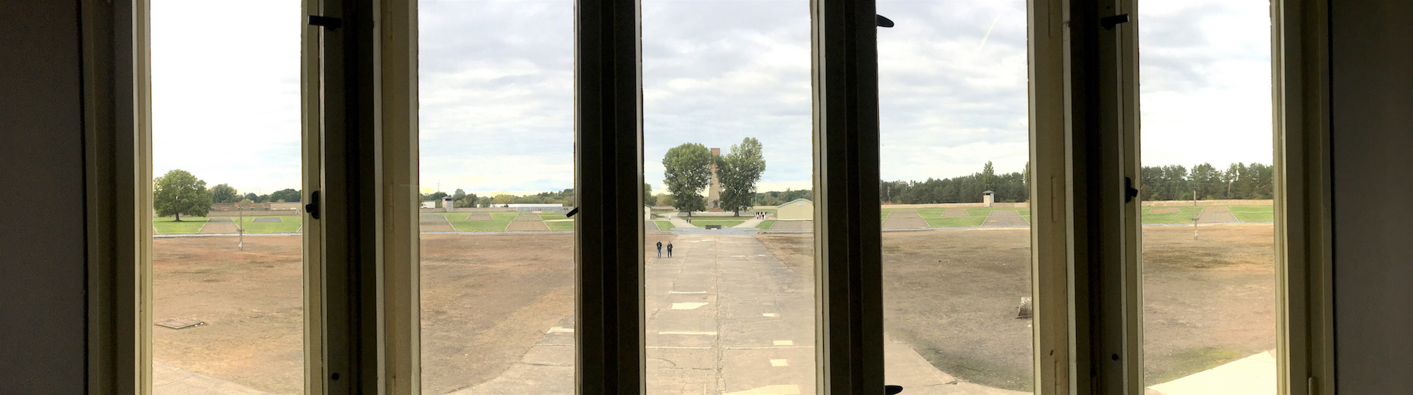 Sachsenhausen concentration camp: view from Tower A