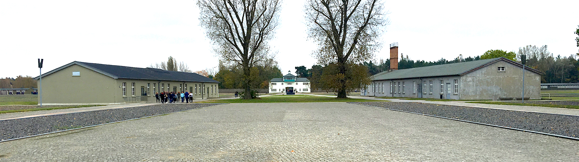 Sachsenhausen concentration camp: barracks