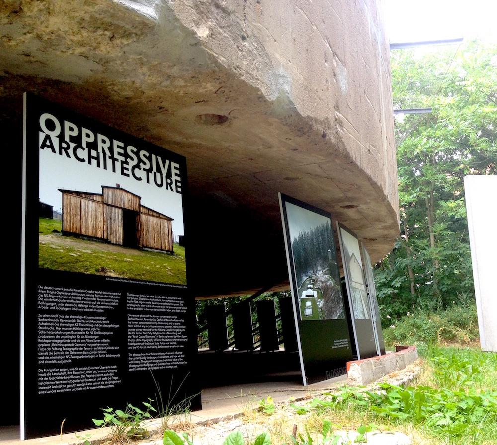 Oppressive Architecture: Fotos von Gesche Würfel im Schwerbelastungskörper in Berlin