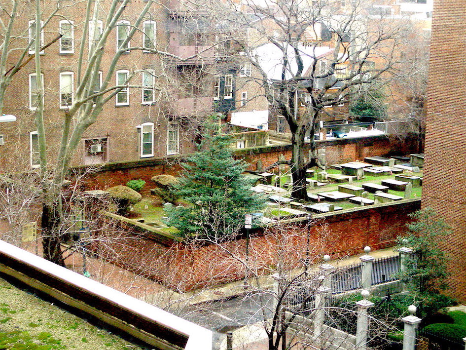 Mikveh Israel cemetery in Philadelphia